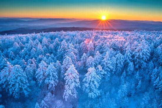 飞雪迎客,黑龙江邀请河北老乡畅游一冬