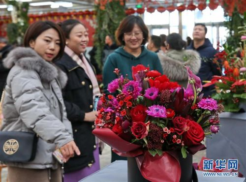 年宵花卉迎春节