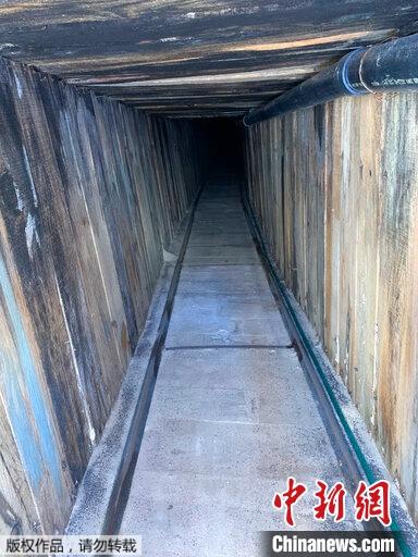 据报道,该隧道