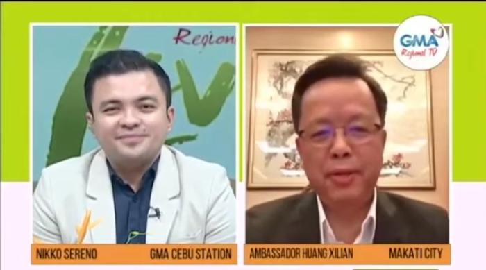 谈及对菲律宾的印象,黄溪连大使表示我非常热爱这个国家,这里的人民热情好客、乐观向上,而且多才多艺。中国驻菲律宾使馆供图
